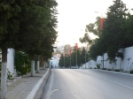 Empty streets as polls open