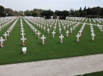 2,481 gravestones mark American soldiers enterred in the U.S. War Cemetery at Carthage